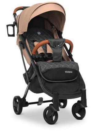 Детская прогулочная коляска с откидной спинкой, капюшоном «EL ...
