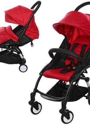 Легкая прогулочная коляска для ребенка с чехлом для ножек EL C...