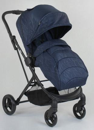 Прогулочная детская коляска со съемным сиденьем и чехлом на но...