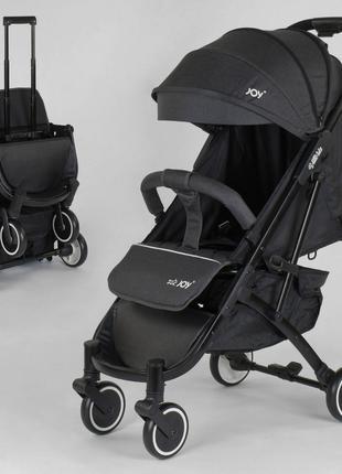 Детская прогулочная коляска JOY Vittoria 52254 Серый Лен алюми...