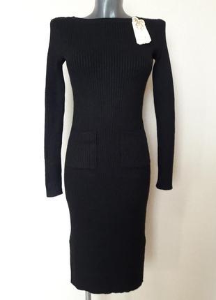 Комфортное,уютное,качественное,мега-теплое платье с карманами,...