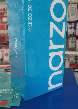"""НОВИНКА!!!REALME Narzo30 5G, 4/128Gb,NFC,экран6.5"""", 90Гц, 5000mAh"""
