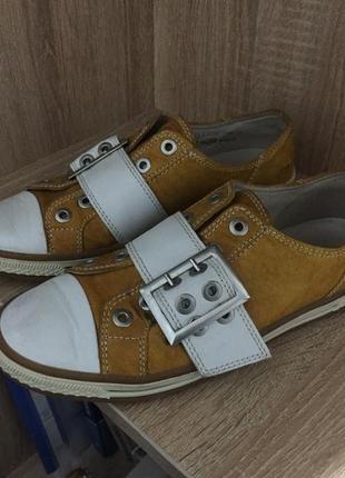 Кожаные туфли gabor 39 р. 24,5 см.