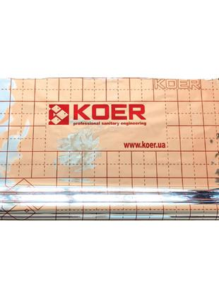 Пленка теплоотражающая металлизированная с разметкой KOER (рул...