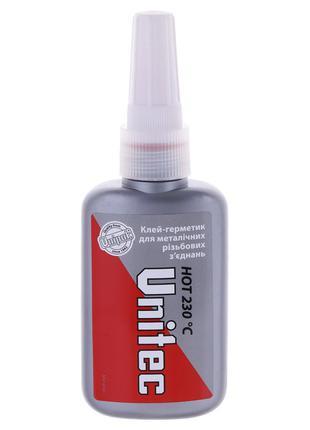 Анаэр. клеевой герметик UNIPAK UNITEC Hot 50мл. (UP0588)