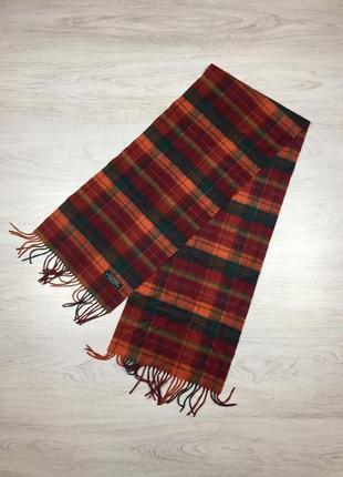 Крутой шерстяной шарф с шерти мериноса + кашемир! lochmere