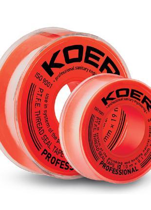 ФУМ лента для воды KOER ST-11 10M*0.1mm*12mm (KR2808)