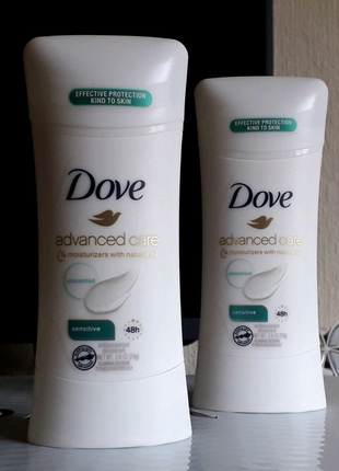 Dove, Дезодорант-антиперспирант Advanced Care . Без запаха! 74 g.