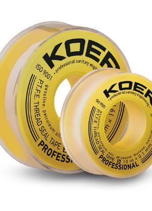 ФУМ лента для газа KOER STP-12 PRO 15M*0.2mm*19mm (KR2811)