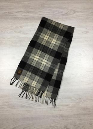 Крутой мужской шарф кашемир/шерсть