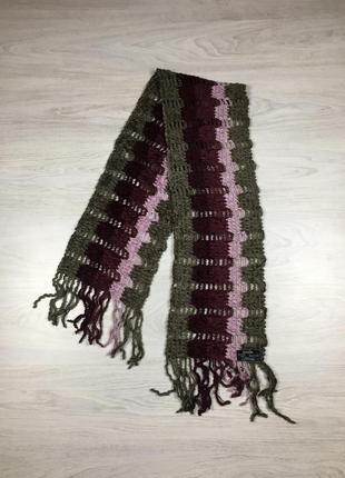 Мягкий теплый шарф bonita italia