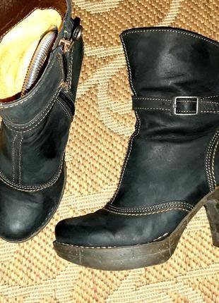 Креативні шкіряні черевики відомого бренду *art