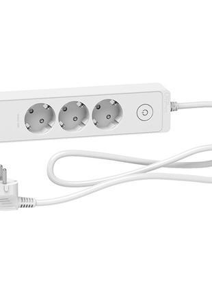 Удлинитель Unica Extend 3 розетки с заземлением+2*USB белый 1.5 м