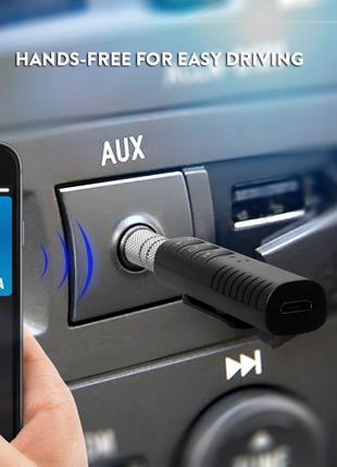 Bluetooth AUX Kit Блютуз адаптер audio (аудио блютуз аукс adapter