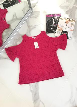 Новая ажурная блуза