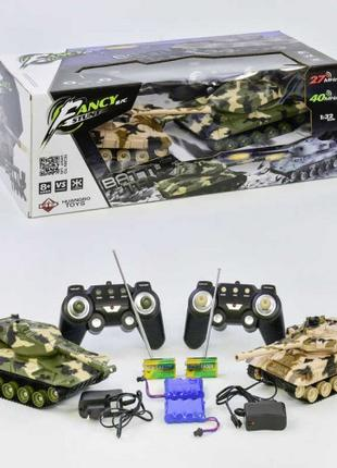 Игровой набор, танковый бой на радиоуправлении НВ-DZ 03, с дву...