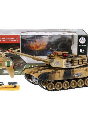 Детский боевой танк на радиоуправлении для мальчика 0139 War T...