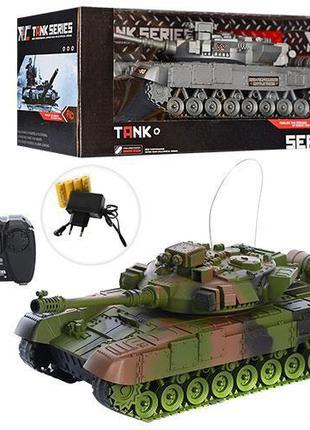 Детский игровой танк на радиоуправлении XJ13-A, со световыми и...