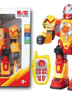 Боевой робот для ребенка на радиоуправлении KD-8811 A ходит, с...