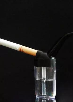 Мини кальян для сигарет (водяной фильтр/мундштук/курительная труб