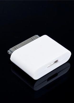 DIXON adapter-переходник для Apple Micro USB для iPhone ipad 4,4S