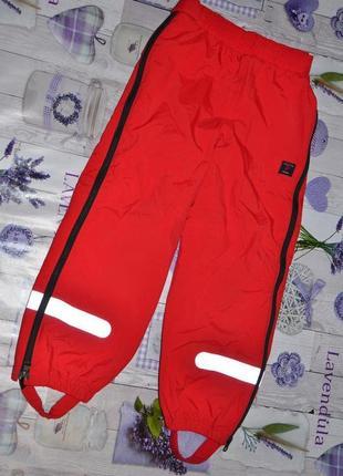 Зимние термо штаны на 6-7 лет, polarn o.pyret -122см.