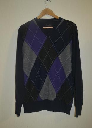 Мужской свитер пуловер джемпер kingfield (кингфилд)