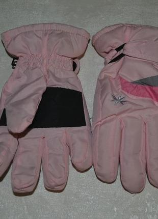 Детские зимние перчатки для девочки