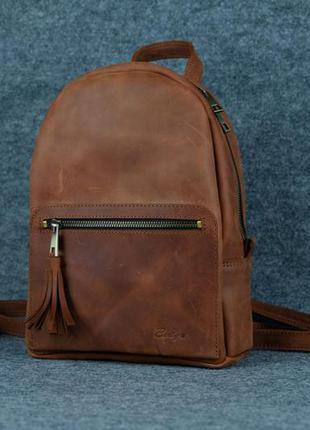 Рюкзак из натуральной кожи.ручна работа