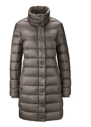 Мягусенькое стеганное пальто, tchibo(германия), размеры наши: ...