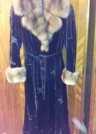 Норковая шуба Saga Furs Royal Эксклюзив