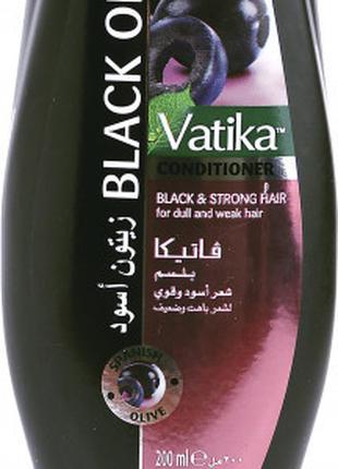 Кондиционер Dabur Vatika с маслом маслин для тусклых и ослабле...