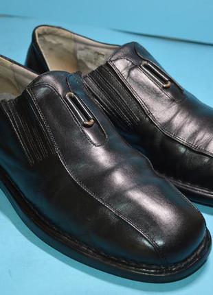 Мужские  кожаные  туфли  josef seibel