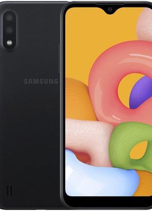 Смартфон Samsung Galaxy A02 SM-A022 2/32GB Dual Sim Black (SM-...