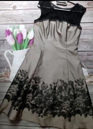 Нарядное платье вечернее