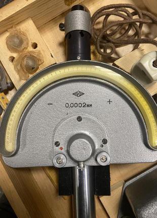 Головка измерительная пружинно-оптическая 02П