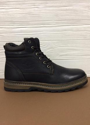 Мужские зимние кожаные ботинки! распродажа последних размеров ...