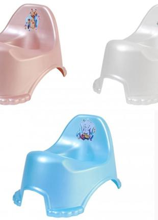 Горшок детский пластиковый, ТехноК 7389, для детей от 1 года, ...