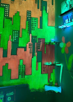 Люминесцентная краска для стен AcmeLight Interior