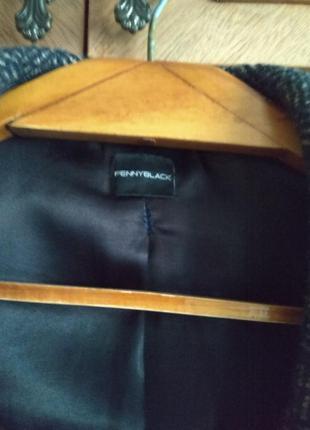 Классическое пальто шерстяное на подкладке