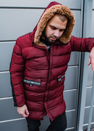 Мужская зимняя куртка Armani,  до -28 , всё размеры!!