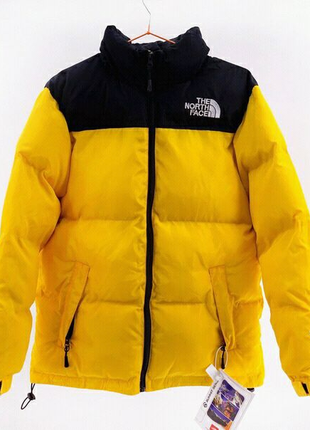 Пуховик The North Face 700 / yellow
