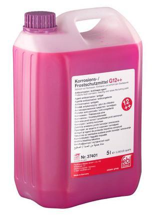 Антифриз FEBI G12++ фиолетовый концентрат 5л