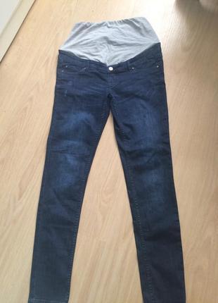 Стильные  джинси для беременних р.40