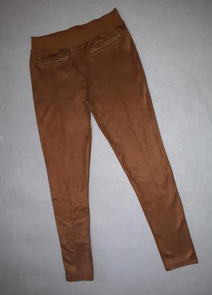 Замшевые штаны f&f