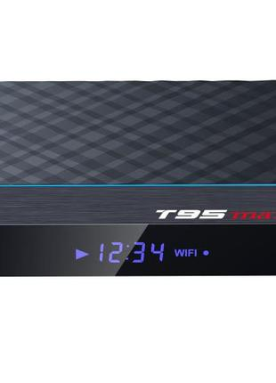 Видеоприставка T95 MAX + 4/32 4-ядерная на Android 9.1.0