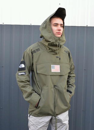 Мужская куртка Supreme x the north face gore-tex, до - 10