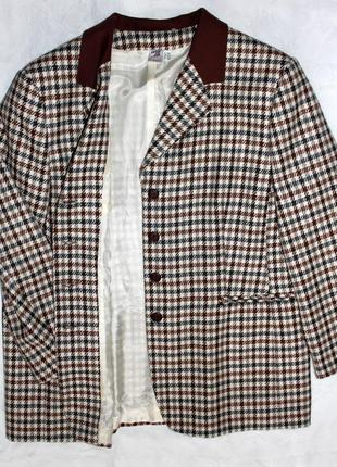 Женский шерстяной пиджак жакет  германия