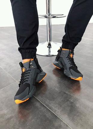 мужские зимние кроссовки Nike huarache winter,до -28 ,всё размеры