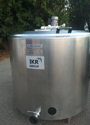 Ванна охладитель молока ALFA LAVAL 500 л